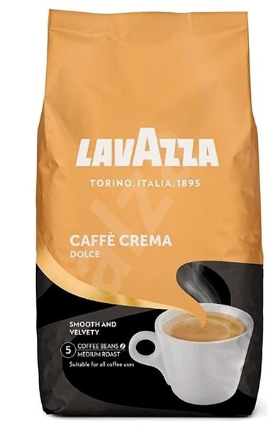 Lavazza Crema Dolce, 1000g, beans - Coffee