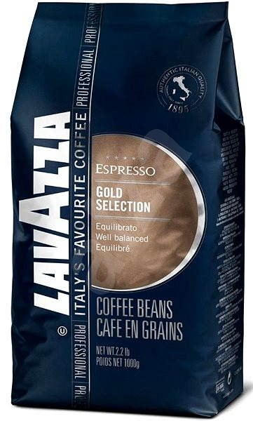 Lavazza Gold Selection, bean, 1000g - Coffee