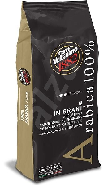 Vergnano Espresso, bean, 250g - Coffee