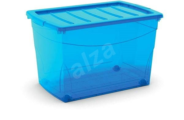 KIS Omnibox XL blue 60l on wheels - Storage Box