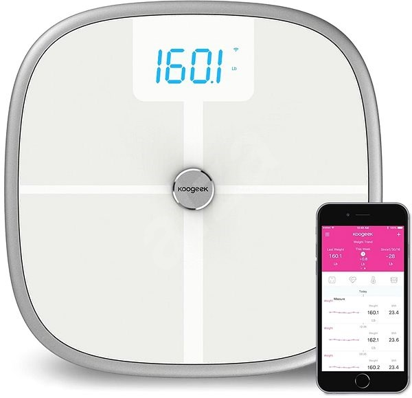 Koogeek S1 Scale - Bathroom scales