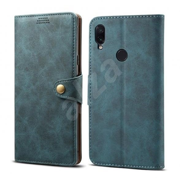 Lenuo Leather for Xiaomi Redmi Note 7, Blue - Mobile Phone Case