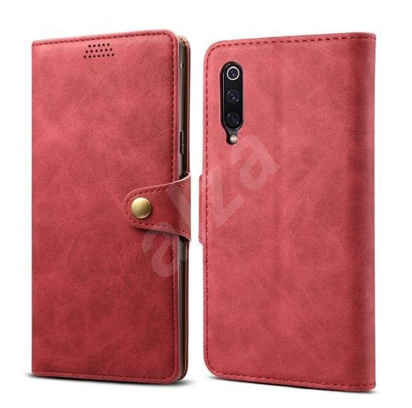 Lenuo Leather for Xiaomi Mi 9, Red - Mobile Phone Case