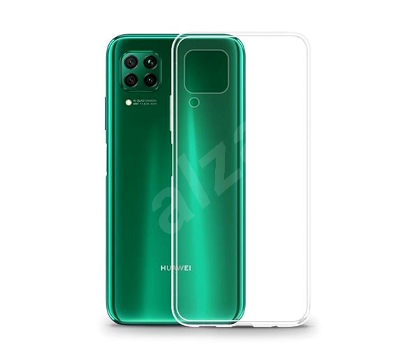 Lenuo Transparent for Huawei P40 Lite - Mobile Case