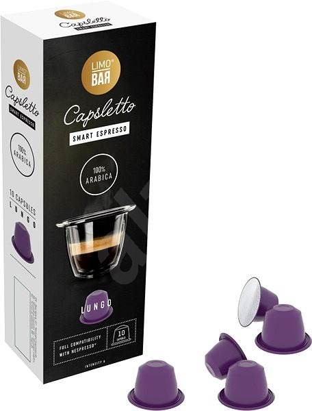 LIMO BAR Capsletto Lungo - Coffee Capsules