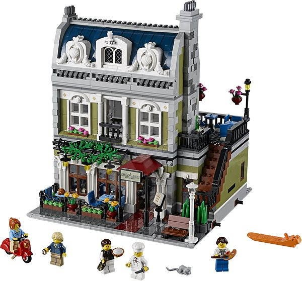 LEGO Creator 10243 Parisian Restaurant - Building Kit