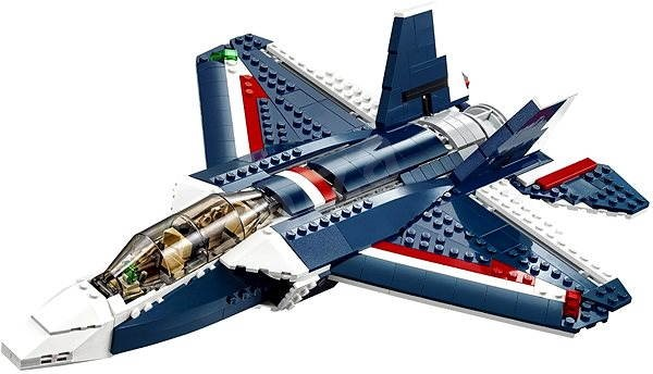 Lego Blue Creator 31039 Jet Kit Power Building JcFlK1