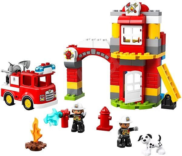 LEGO DUPLO Town 10903 Fire Station - LEGO Building Kit