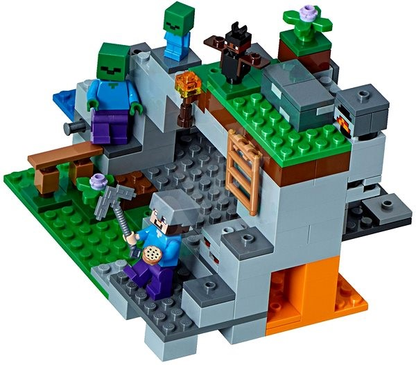 LEGO Minecraft 21141 The Zombie Cave - LEGO Building Kit