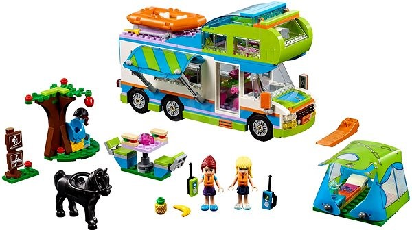 LEGO Friends 41339 Mia and her caravan - Building Kit