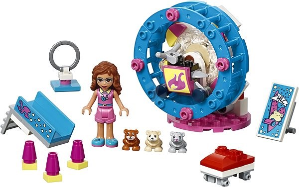 LEGO Friends 41383 Olivia's Hamster Playground - Building Kit