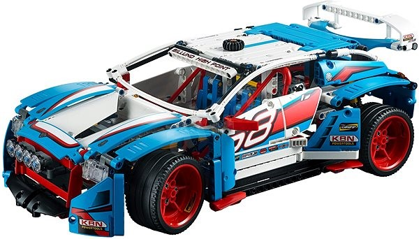 LEGO Technic 42077 Rally Car - Building Kit