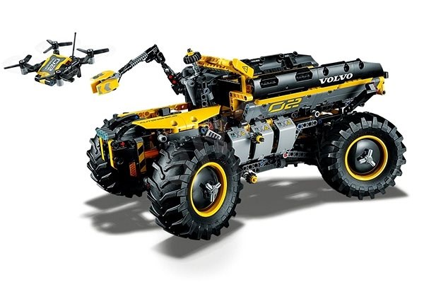 Lego Technic 42081 Volvo Concept Wheel Loader Zeux Building Kit