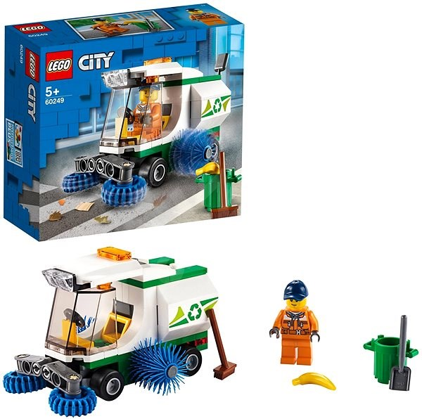 LEGO City Great Vehicles 60249 Street Sweeper - LEGO Building Kit