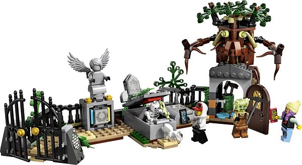 LEGO Hidden Side 70420 Graveyard Mystery - LEGO Building Kit