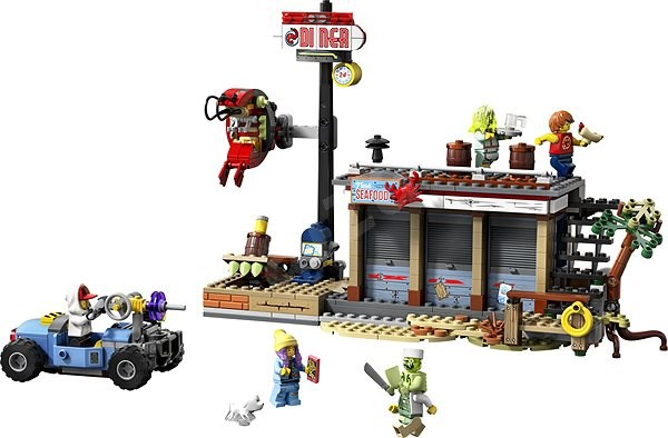 LEGO Hidden Side 70422 Shrimp Shack Attack - LEGO Building Kit