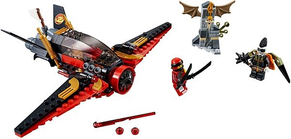 LEGO Ninjago 70650 Destiny's Wing - Building Kit