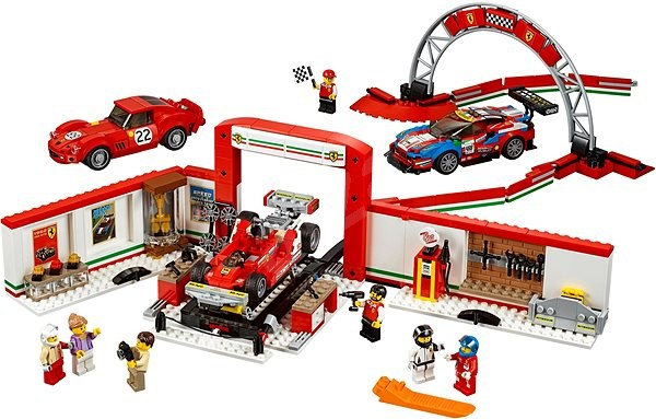 Lego Speed Champions 75889 Ferrari Ultimate Garage Building Kit