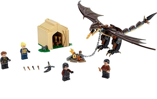 LEGO Harry Potter 75946 Hungarian Horntail: Triwizard Challenge - Building Kit