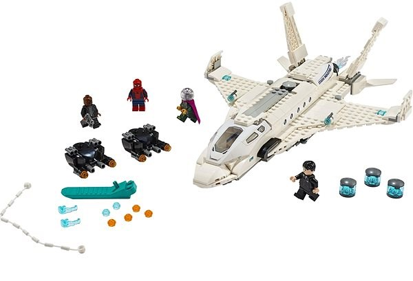 LEGO Super Heroes 76130 Stark Jet and the Drone Attack - LEGO Building Kit