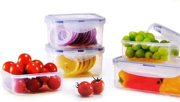 Lock&Lock Food Container, set 5pcs - Food Container Set