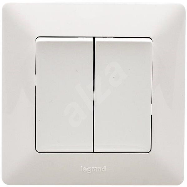 Legrand Valena Life Serial Switch No.5 Set, White - Switch