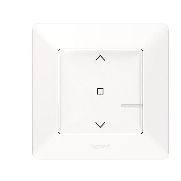 Legrand Valena Life with Netatmo Wireless Blind Controller, White - Controller