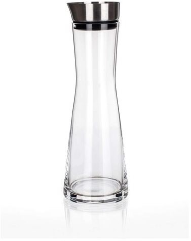 MAISON FORINE Glass Decanter with Stainless-steel Stopper, 1000ml, MF - Carafe