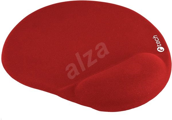 C-TECH MPG-03 red - Mouse Pad