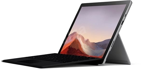 Surface Pro 7 128GB i3 4GB platinum + EN/US Keyboard Included - Tablet PC