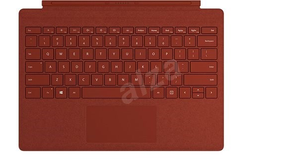 Microsoft Surface Pro Type Cover Poppy Red - Keyboard