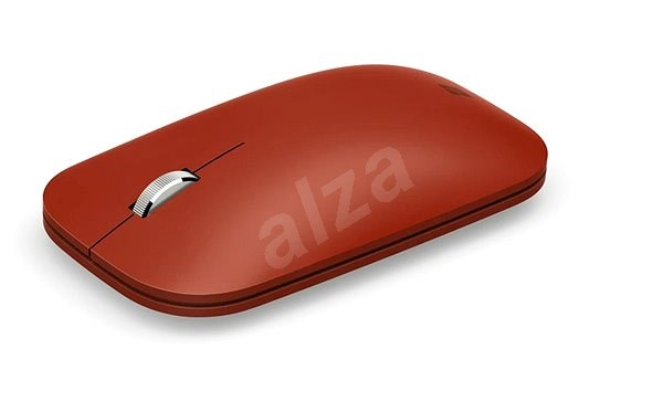 Microsoft Surface Mobile Mouse Bluetooth, Poppy Red - Mouse