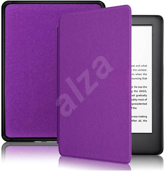 B-SAFE Lock 1287 for Amazon Kindle 2019, purple - E-book Reader Case