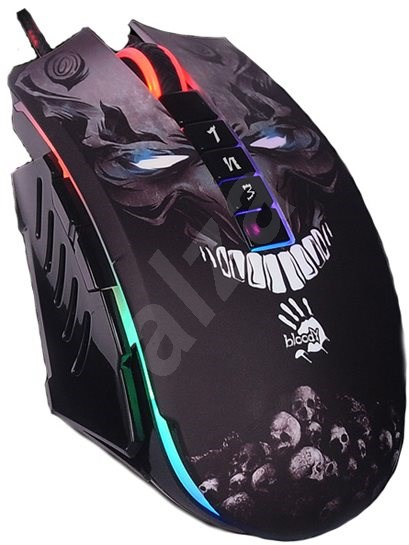 A4tech Bloody P85 Skull Core 3 Metal Travels - Gaming mouse
