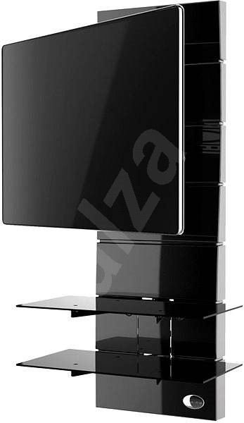 Meliconi Ghost Design 3000 Rotation Black - TV Stand