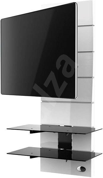 Meliconi Ghost Design 3000 White (rotating) - TV Stand