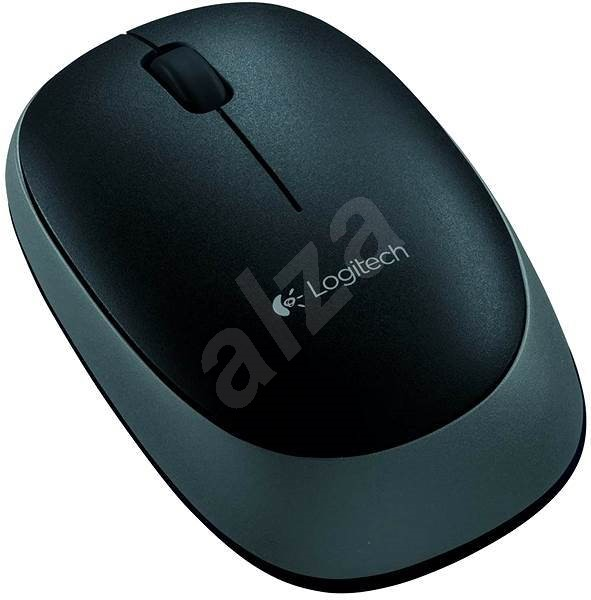 Logitech Wireless Mouse M165 Black - Mouse