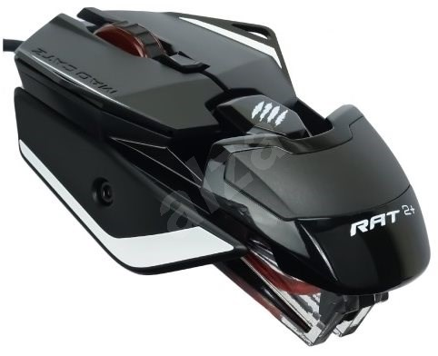 Mad Catz R.A.T. 2+ black - Gaming mouse