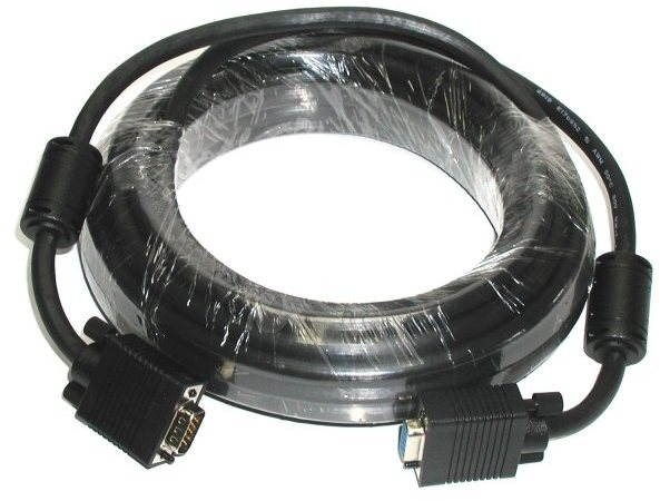 OEM HQ VGA, extension, shielded with ferrite, 6m - Video Cable