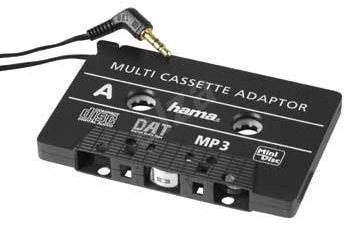 Hama for playing CD/MP3 in a cassette player - Adapter