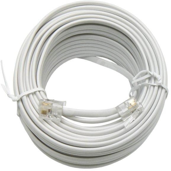 OEM telephone with RJ12 connectors 15m - Telephone Cable