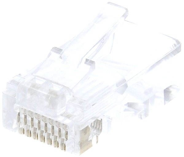 10-pack, Datacom, RJ45, CAT5E, UTP, 8p8c, for thin cable - Connector