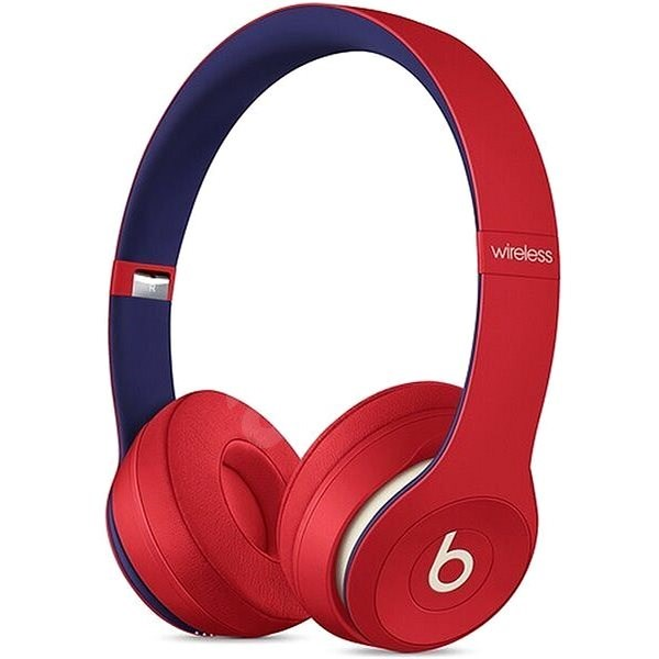 Beats Solo3 Wireless - The Beats Club Collection - Club Red - Headphones