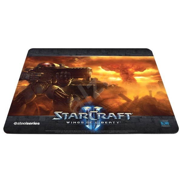 STEELSERIES Steel Pad QcK Limited Edition (StarCraft2