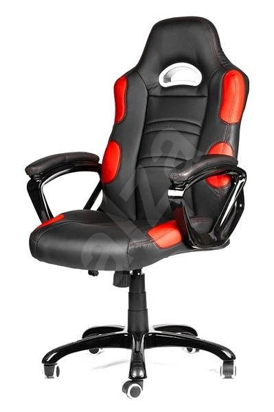 Mercury Star Silverstone Black Red Office Chair