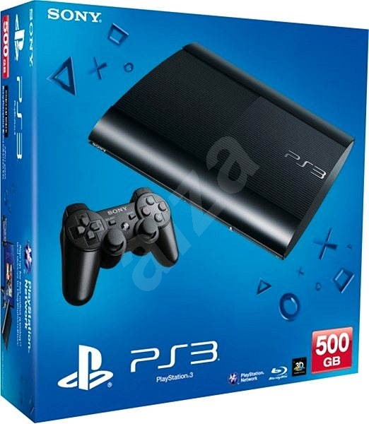 Sony PlayStation 3 Slim New 500GB + Gran Turismo 6 - Game Console ...