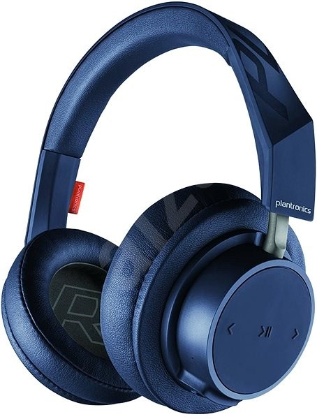Plantronics Backbeat GO 600 stereo blue - Headphones with Mic ... e0621e2ae7
