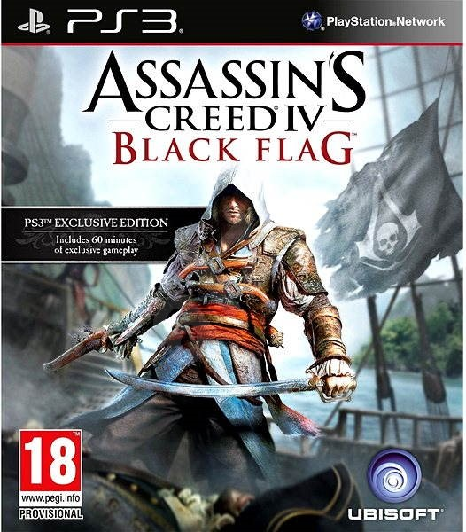 Assassin S Creed Iv Black Flag Ps3 Console Game Alzashop Com
