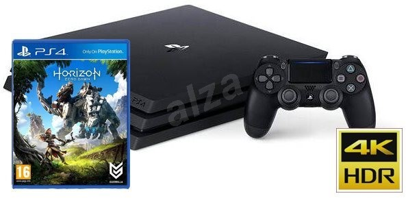 Sony Playstation 4 - 1TB PRO + Game Horizon: Zero Dawn - Game Console