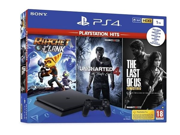 bba63ee45 PlayStation 4 Slim 1TB + 3 Games (The Last Of Us